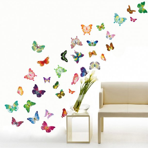Sommer fugle Wall Sticker